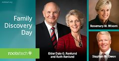 Watch Live Streaming of RootsTech Family Discovery Day on February 6, 2016. Learn how temple and family history work blesses you and your family at the 2016 RootsTech Family Discovery Day February 6.