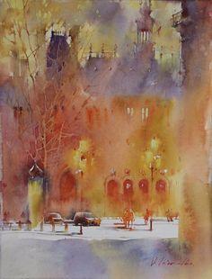 Viktoria Prishedko - watercolor