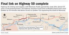 Final link on Highway 50 complete