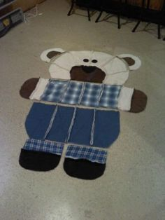 Teddy Bear Patchwork Quilt