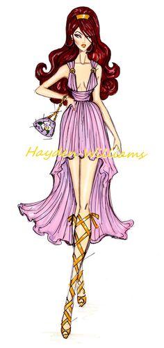 The Disney Divas collection by Hayden Williams: Megara