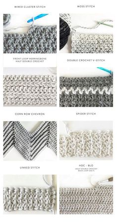 40 Free Crochet Stitches from Daisy Farm Crafts (zig zag stitch) 40 kostenlose Häkelstiche von Daisy Farm Crafts Source by ADS Learn how to crochet the Herringbone Half Double Crochet Stitch! A beautiful and simple stitch for baby blankets! Crochet Unique, Crochet Simple, Crochet Diy, Vintage Crochet, Simple Crochet Patterns, Simple Crochet Blanket, Doilies Crochet, Crochet Edgings, Crochet Flower