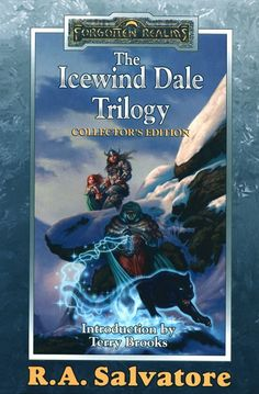 Forgotten Realms (Drizzt!) This has got to be one of the best series I have ever read in my life EVER!