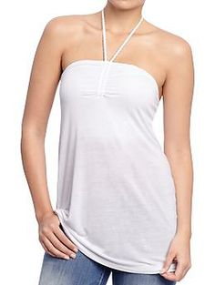Womens Butterfly-Braid Halter Tops...will be part of my summer collection!!