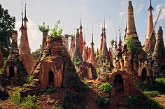 The Crumbling Village of Temples Lost to the Myanmar Jungle