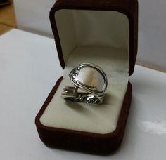 195 mm Besteckschmuck Silberbesteck Ring von BesteckschmuckBaron