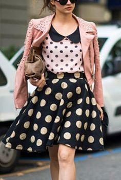 Tendencia: Polka Dots - Cranberry Chic