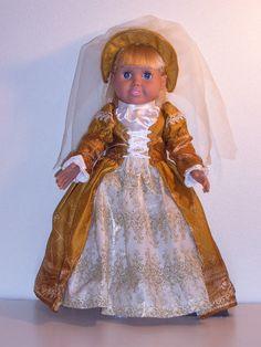 Renaissance Kostüm für ein 18 Zoll American Girl Größe von maryment
