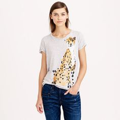 J.Crew - Donald Robertson™ for J.Crew cheetah tee