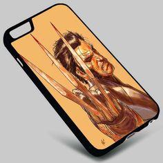 Wolverine X-Men Marvel Iphone 4 4s 5 5s 5c 6 6plus 7 Samsung Galaxy s3 s4 s5 s6 s7 HTC Case