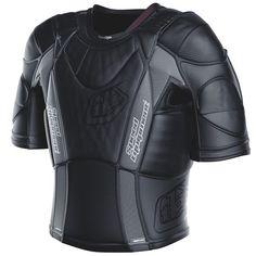 Troy Lee Designs UPS 5850 HW Short-Sleeve Shirt Unisex Undergarment Off-Road Motorcycle Body Armor Biker Gear, Motorcycle Gear, Look Fashion, Mens Fashion, Troy Lee, Armor Concept, Cool Gear, Riding Gear, Body Armor