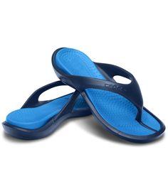 Crocs Navy Slippers