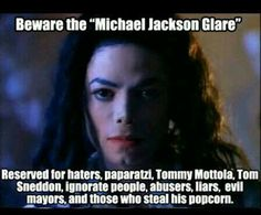 The Michael Jackson Glare (Not gonna lie, the last one on the list really made me giggle lol)