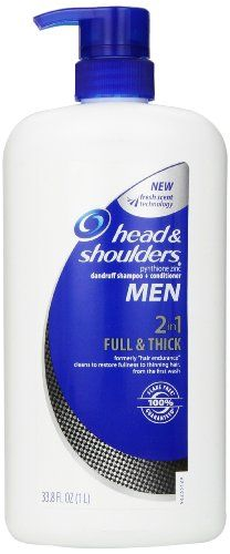 Head and Shoulders Men Full & Thick 2-In-1 Dandruff Shampoo + Conditioner 33.8 Fl Oz Head & Shoulders,http://www.amazon.com/dp/B00GD853KA/ref=cm_sw_r_pi_dp_ftVdtb1SN4SAR1RE