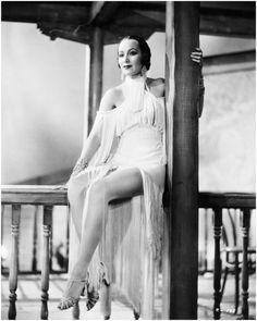 Dolores Del Rio in Fringed Dance Costume, 1935 I Corbis Archive