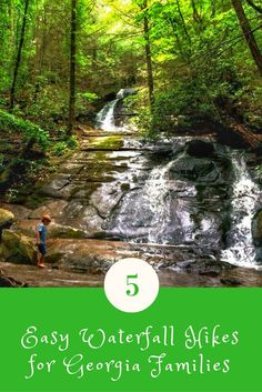 If you're looking for gorgeous waterfalls in Georgia that are easy enough for the entire family to take in, then read on!