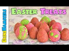 EASTER EGG RODENT TREATS! - YouTube