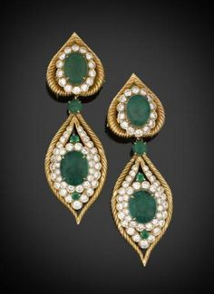 m.s._rau_antiques_van_cleef__and__arpels_emerald_drop_earrings_12314912936973.jpg (428×591)