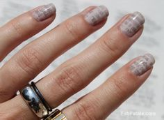 Easy , do it yourself, newspaper nails
