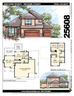 House Layout Plans, House Layouts, House Plans, Fall Wood Projects, Story Planning, Wood Plans, Model Homes, French Doors, Great Rooms