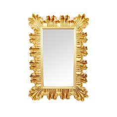Διακοσμητικός καθρέπτης με έντονο πλαίσιο για κλασικό σαλόνι.. Mirror, Gold, Furniture, Home Decor, Products, Decoration Home, Room Decor, Mirrors, Home Furnishings