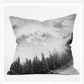 Found it at AllModern - Bird Wanna Whistle Mountain Woven Polyester Throw Pillow