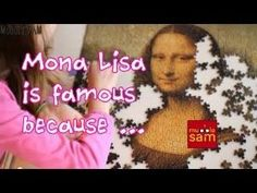 Leonardo da Vinci: Why is the Mona Lisa so Famous? (C2, W6) by colette