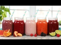 Learn how to make healthy breakfast smoothies, healthy green smoothies, dessert smoothies, coffee smoothie. Matcha Green Tea Smoothie, Healthy Green Smoothies, Healthy Breakfast Smoothies, Fruit Smoothies, Healthy Drinks, Healthy Food, Fruit Juice Recipes, Smoothie Recipes, Snack Recipes