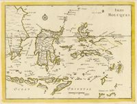 This is a really old and really cool historical map of Indonesia from the year 1748 (told you it was really old!).