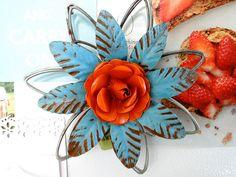 Metal Flower Magnet