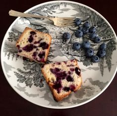 Slow + Simple :: Sunday Morning Blueberry Quick Bread. The Entertaining House