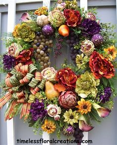 TIMELESS FLORAL CREATIONS - WREATH GALLERY