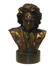 Toperkin Beethoven Bust Figurines Busts Statues Bronze Sculptures Home Decor Pablo Picasso, Bronze Sculpture, Cool Photos, Art Music, Statues, Modern Art, Amazon, Home Decor, Sculptures