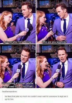 Okay, Chris Pratt.<<<< just like Andy #funnypics #funny #lol