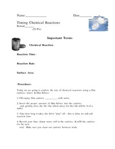 Note Page On Types Of Chemical Reactions Chemistry  Chemical