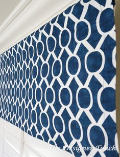 Blue Valances Window Treatments
