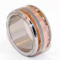 Minter & Richter - Titanium Rings | Unique Wedding Rings - Meteorite | Titanium Rings | Minter + Richter