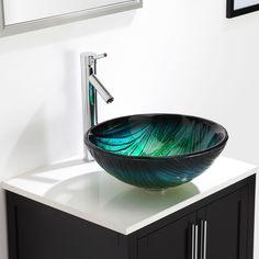 Kraus Sheven Single Hole Single-Handle Vessel Bathroom Faucet in