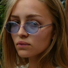 '90s inspired colored lens sunglasses