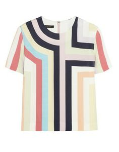 Mother of Pearl & Jim Lambie Striped Silk Top