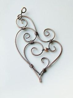 Wire heart by rend56