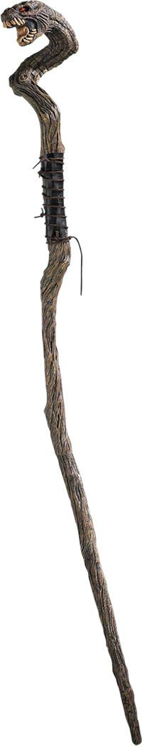 Wizard Staves | Wizard's Snake Staff - Halloween Costumes
