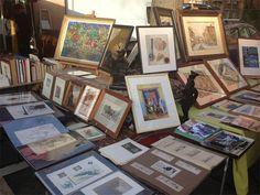 Marché aux puces de la Porte de Vanves (Vanves Flea Market)...a great way to spend a Saturday or Sunday morning in Paris