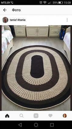 Diy Crafts - -Discount Carpet Runners By The Foot HallCarpetRunnersCheap Knit Rug, Rug Yarn, Crochet Home, Knit Or Crochet, Diy Carpet, Rugs On Carpet, Stair Carpet, Carpet Runner, Rug Runner