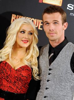Christina and Cam. Beautiful Celebrities, Beautiful People, Cam Gigandet, The Millions, Christina Aguilera, Burlesque, Cute Couples, Hollywood, Singer
