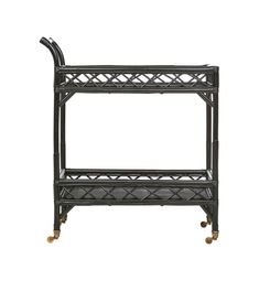 Nothing says fun quite like our new favourite, the Rattan Bar Cart! Perfect for those balmy summer nights sipping on cocktails on the deck! Unique Furniture, Furniture Decor, Black Bar Cart, Spare Bedroom Decor, Bar Trolley, Bar Carts, Entrance Ways, Stylish Home Decor, Rattan