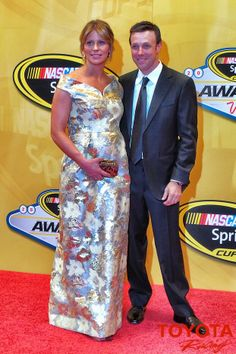 Matt & Katie Kenseth at the 2013 NASCAR Awards Banquet