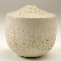 ceramic vase clean shape by John WARD