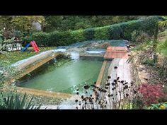 Decks, Outdoor Decor, Nature, Youtube, Home Decor, Pond Waterfall, Hot Tub Garden, Water Garden, Naturaleza