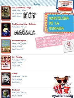 Ve GRATIS! Al @autocinemac HOY! #carteleracoyote #plandiferente